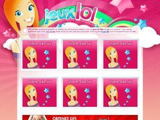 le portail jeux de fille gratuit http://www.jeuxlol.com